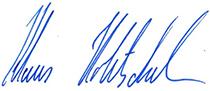 Unterschrift  Klaus Holetschek